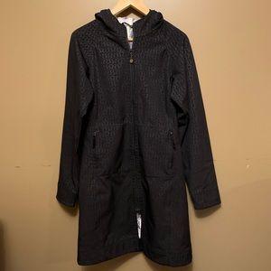 Lululemon apres yoga soft shell rain jacket coat